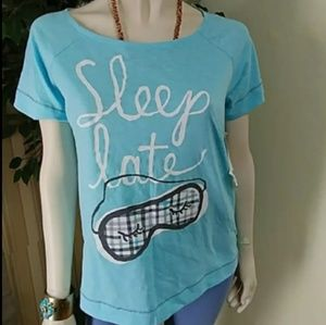 """Hue Short Sleeve Pajama """"Top Only"""""""